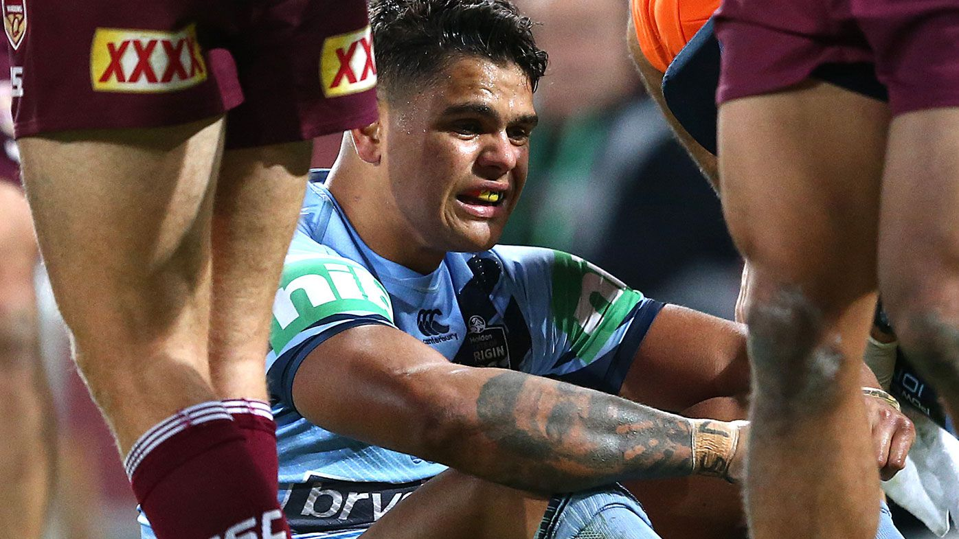 Cooper Cronk defends Latrell Mitchell amid criticism of NSW Origin performance