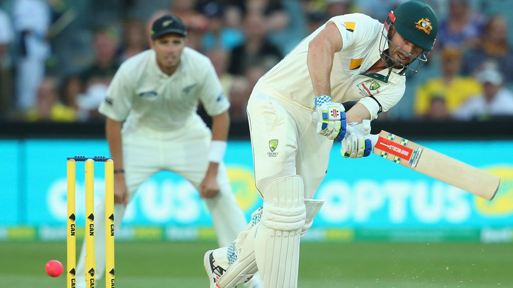 Shaun Marsh made 49 runs for Australia. (Getty)