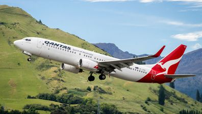 Qantas flights