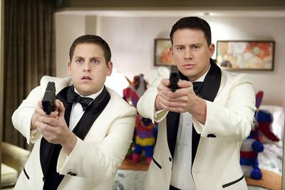 """An action-comedy based on the 80s TV series, <i>21 Jump Street</i> follows police officers Schmidt (Jonah Hill) and Jenko (Channing Tatum) as they go undercover in a high school in order to bust a drug ring. In an interview for <i>Pirates of the Caribbean: On Stranger Tides</i>, Johnny Depp confirmed that he filmed a cameo for the flick (Depp appeared in the original series).<br/><br/><b><a target=""""_blank"""" href=""""http://yourmovies.com.au/movie/43284/21-jump-street"""">*Vote for this movie on MovieBuzz</a></b>"""