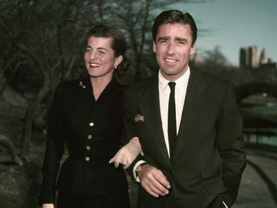 Patricia Kennedy and Peter Lawford