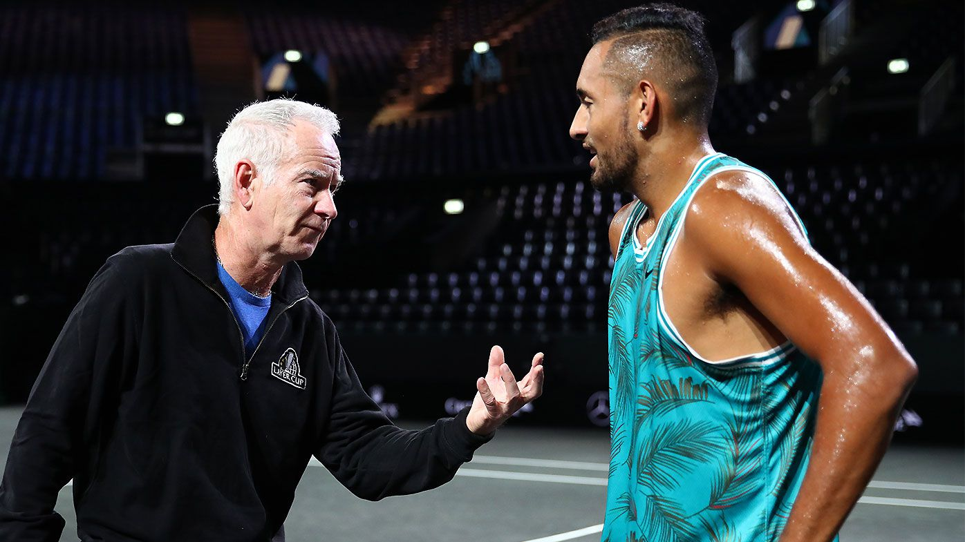 John McEnroe admits opportunity to coach Nick Kyrgios would be a 'no-brainer'