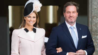 Princess Madeleine of Sweden and husband Chris O'Neill