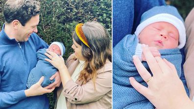 Princess Eugenie and Jack Brooksbank introduce their son August Brooksbank