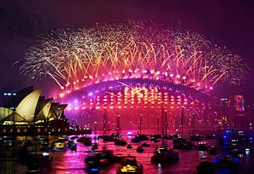 Scott Morrison insists Sydney fireworks will go ahead