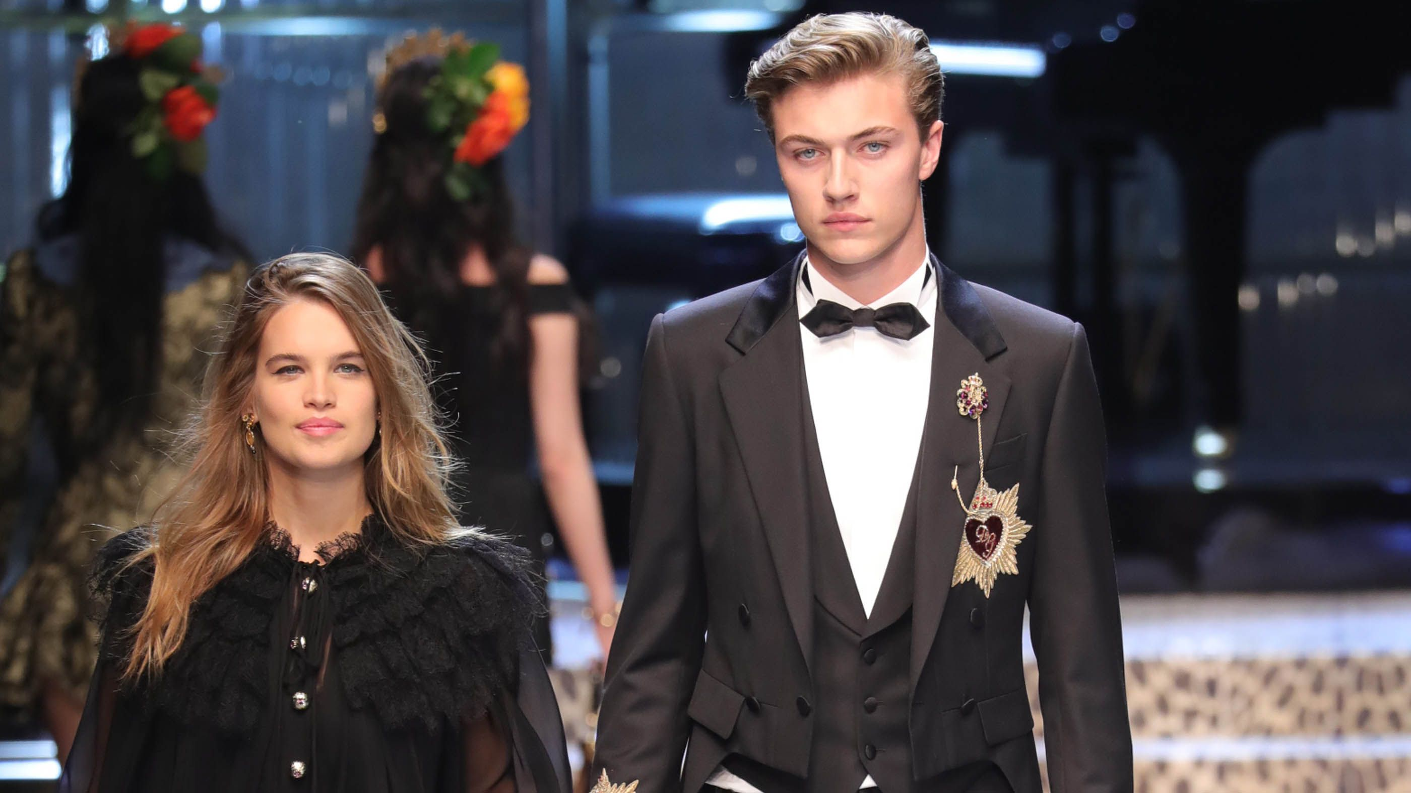 Lucky Blue Smith, 18, to be a dad