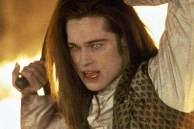 Oh yeah, and Brad Pitt's mad vamp in the same flick wasn't half bad either!<br/>