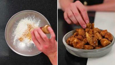 Viral popcorn chicken recipe