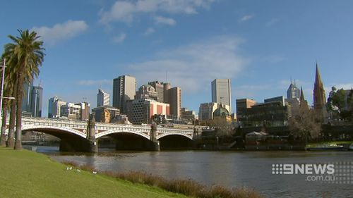 The tunnels will be formed 11 metres below the waterline. (9NEWS)