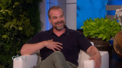 David Harbour gushes about being a stepdad