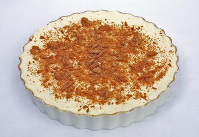 Banoffi pie recipe with Flake