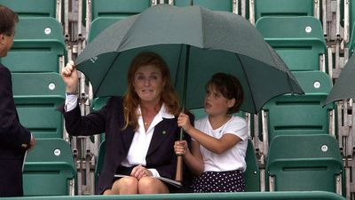 The Duchess of York and Princess Eugenie, 2002