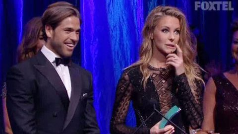 Whoops! Jennifer Hawkins calls Real Housewife Jackie a 'psycho' instead of a 'psychic' at the ASTRAs