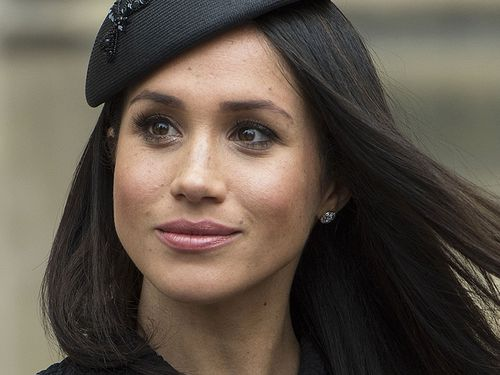 Meghan said she 'hopes her father can be given the space he needs to focus on his health.' (PA/AAP)