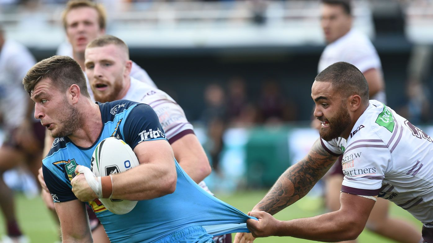Arrow stars as Titans upset Manly in NRL