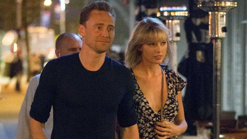 Tom Hiddleston and Taylor Swift.