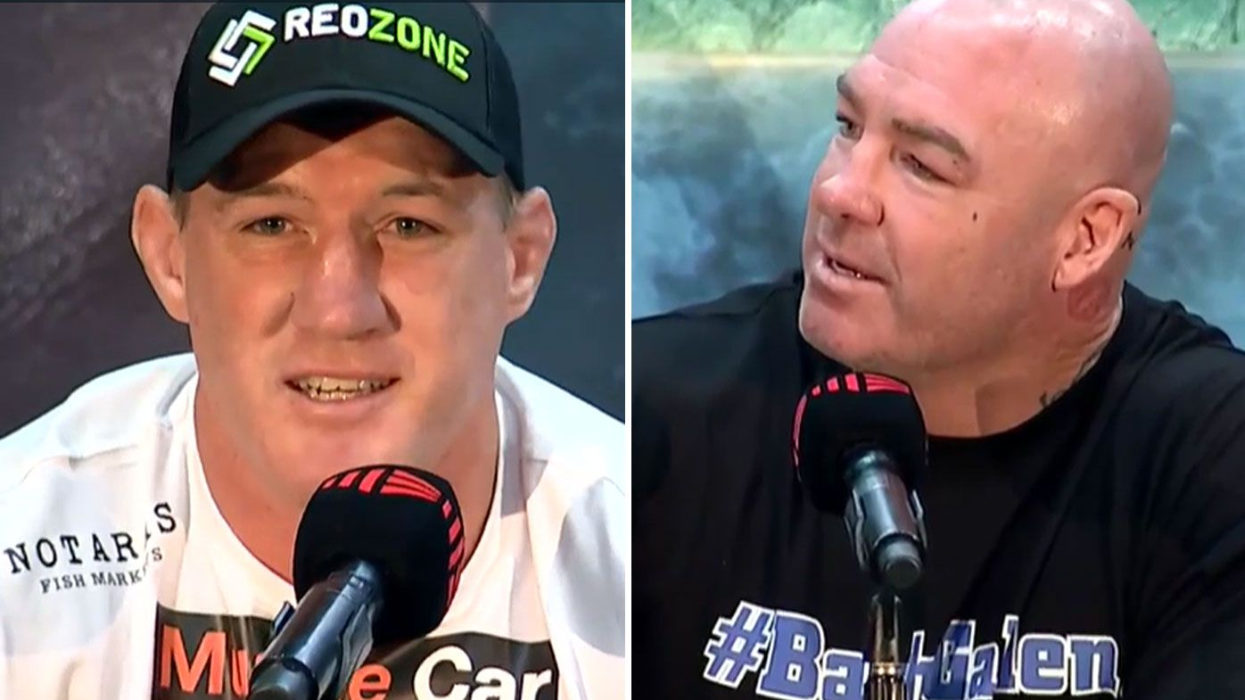 Paul Gallen roasts Lucas Browne as feud between boxers escalates