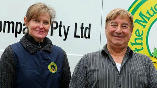 Jennifer Borchardt and Peter Pavlis.