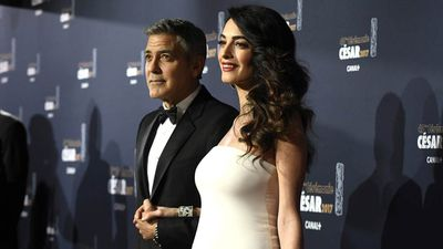 The couple marriedin a star-studded Venice wedding in 2014.(AAP)