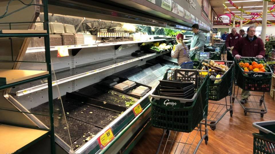 Supermarket throws out $35,000 in food after customer 'deliberately' coughs on it