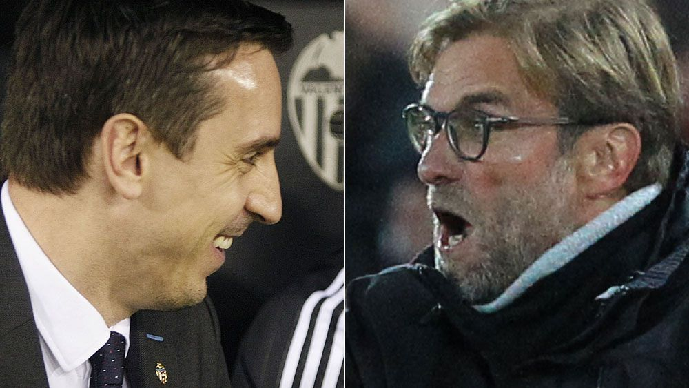 Klopp slams Neville brothers over criticism