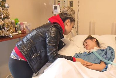 Cosmetic surgery leaves teen brain damaged, mother 'just wants daughter back'