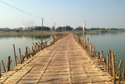 <strong>Bamboo Bridge, Cambodia&nbsp;</strong>
