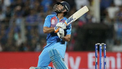 <strong>India - MS Dhoni</strong>
