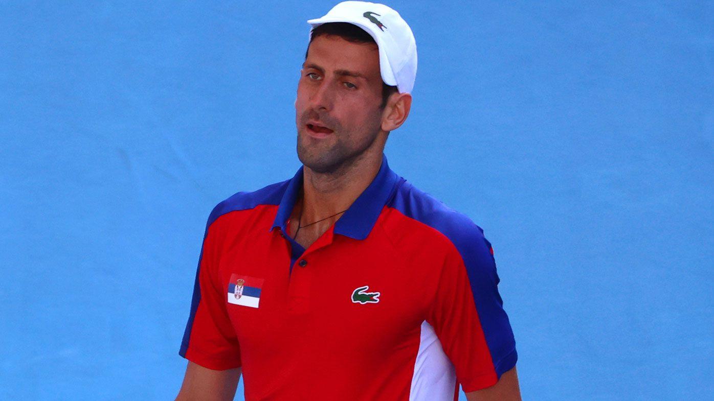 LIVE: Djokovic shock hands Aussies bronze