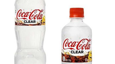 Clear Coca-Cola to be launched in Japan