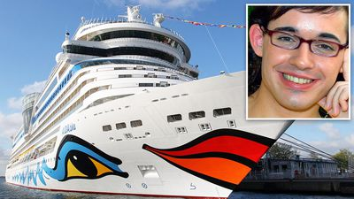German celebrity vanishes while on Canadian cruise