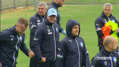 Graham Arnold rules himself out of Socceroos coaching job