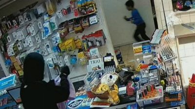 Boy terrorised by armed robber in servo hold-up