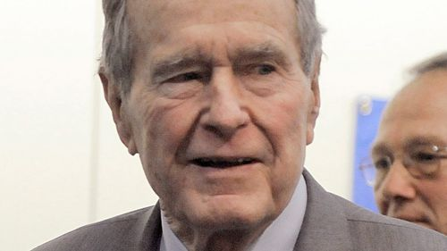 Bush narrowly escaped death as a naval aviator and was shot down by Japanese forces over the Pacific Ocean in World War II.