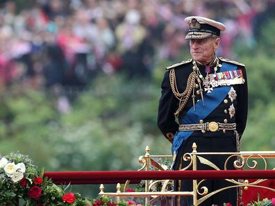 Prince Philip in 2012