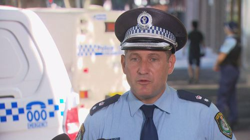 Superintendent Gary Coffey from NSW Police.