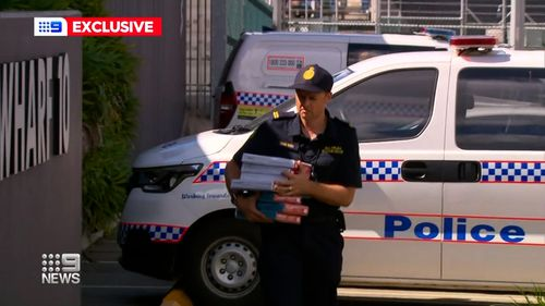 Australian Border Force are searching for the man after he jumped ship in Townsville.
