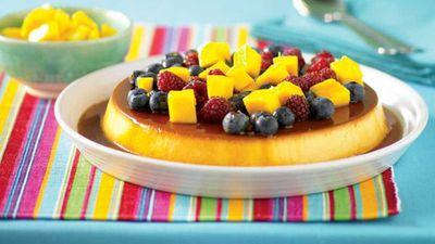 "Recipe:<a href=""http://kitchen.nine.com.au/2016/05/13/11/12/mexican-flan"" target=""_top"">Mexican flan</a>"