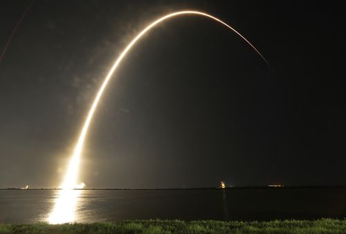 The Japanese billionaire will fly to the moon aboard a new rocket called the BFR, which is still in development.