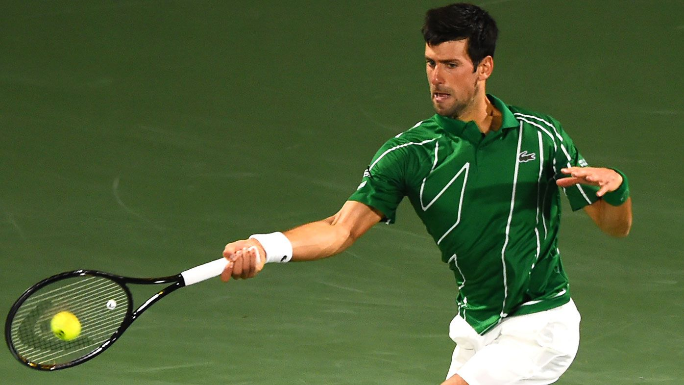 Unbeaten Novak Djokovic powers to Dubai title, downing Stefanos Tsitsipas in final