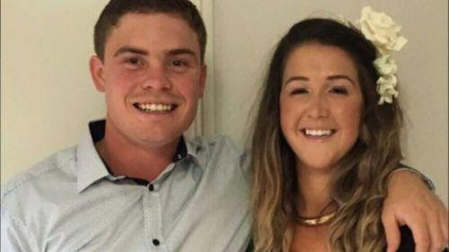 Ayla Cresswell with her late boyfriend Joshua Davies.