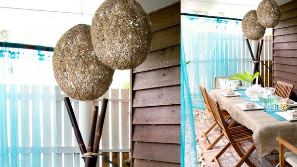 Twine Hanging Pendants