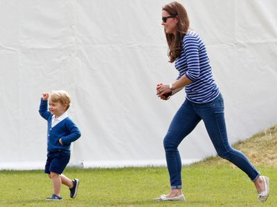 Prince George and the Duchess of Cambridge, 2015