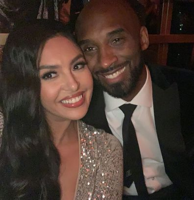 Vanessa Bryant and Kobe Bryant.