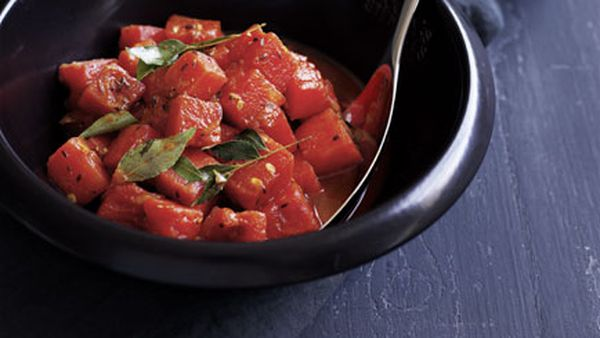 Watermelon curry