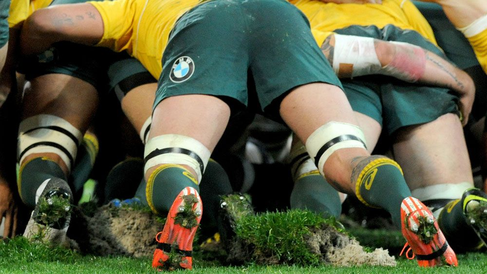 ARU officials have complained about the turf at AAMI Park (AAP)