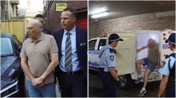 A 69-year-old man has been charged over historic bank robberies across Sydney.