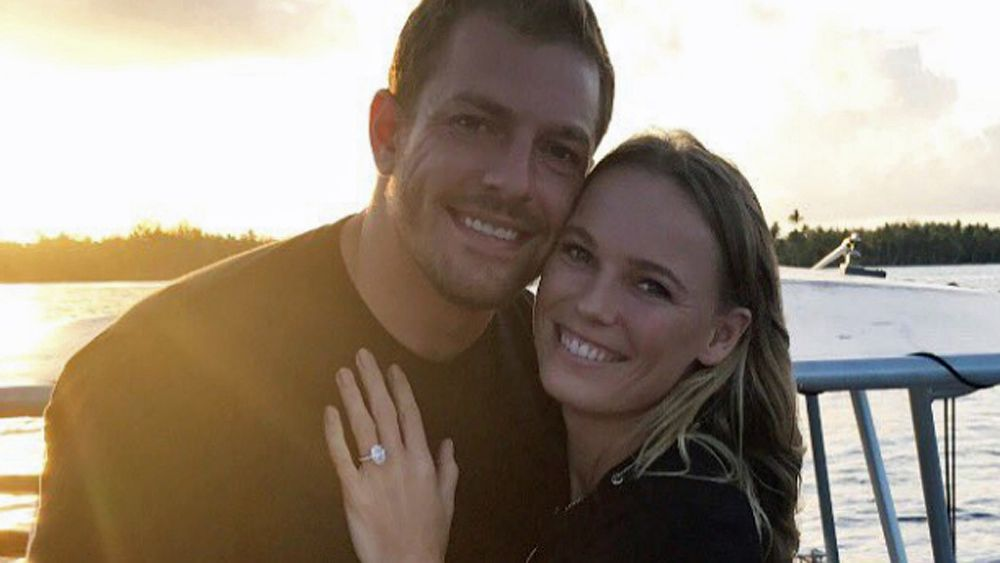 Caroline Wozniacki announces engagement to former NBA player David Lee