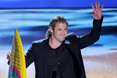 Aussie actor <b>Chris Hemsworth</b> took home Choice Summer Male Movie Star.