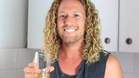 Gross! Big Brother winner Tim Dormer drinks his own pee for dare video